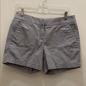 "J. Crew Factory grey chino 5"" shorts"